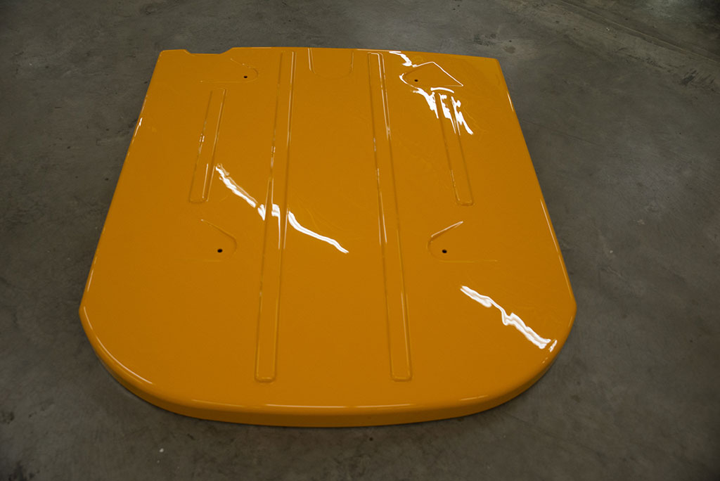 Cab roofs are a popular item we produce here at Plastics Unlimited.